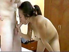 Sandra - Filippijnse meisjes nemen van grote witte lullen