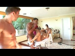 Hot Orgy Outdoor Avec Bobbi Starr et Bell