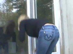 O limpador de janelas