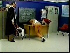 Fessée de l'école