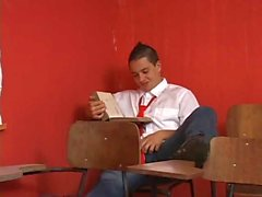 Busty teacher seduces student