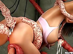 Tentacle Monsters Fuck Celeb Ultimate 3D Porn Dessins animés