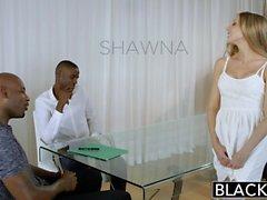 Annerito assistente personale di Shawna Lenee ama gli uomini nero