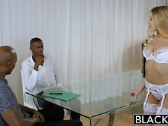 BLACKED Asistente Personal Shawna Lenee ama a los hombres negros