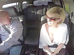Adulterous british milf lady sonia flashes her huge melons