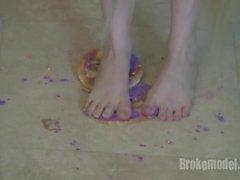 Ranie Mae Feet murskaus Donuts HD -tuoksuinen houkutteleva kohokohta