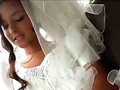 Aficionada se se hace encular un desconocido día de su boda