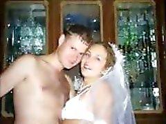 Verkliga Brides på sin smekmånad !