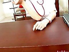 Ladyboy Nurse Shuy Strokes