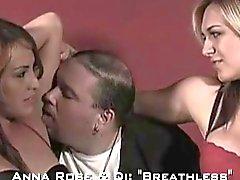 Armpit licking lesbian
