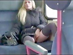 Amatör tyska offentliga svälja