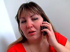 De BBW culo Fat acción seduce a sus sicólogo