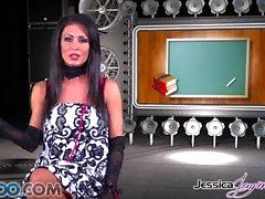 Jessica Jaymes - Jessica toma dos pollas como un campeón a la vez