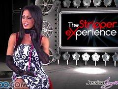 JessicaJaymes - Jessica leva dois galos como um campeão de uma só vez