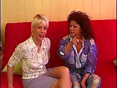 Carole Amatrice blond gjutning et sodomie