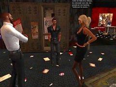 Matt l'ancien barman de Fred Adjani se tape sa femme Venicie vidéo 1/2