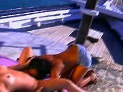 Dani Daniels y rubia lesbiana lamer gilipollas