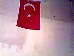 kåta iranska kille playes med turkisk flicka i sitt hem i Turkiet
