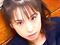 Связанная Schoolgirl Bukkake