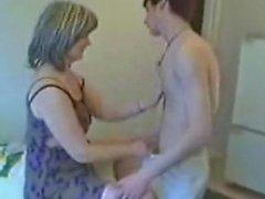jolie maman Russie et de son fils