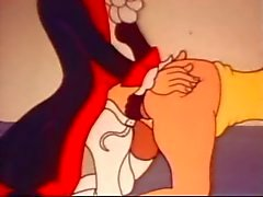 grappige en rare vintage cartoon sex clips
