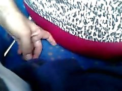 Touch delicious ass granny milf in bus 3