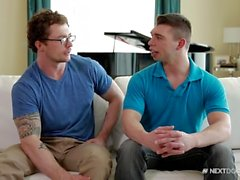 NextDoorBuddies Markie More Gets Doggy Fucking from Young Hunk