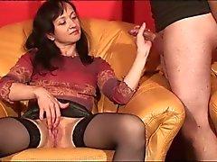 Masturbación Mutual sólo Chicas Cums de WF