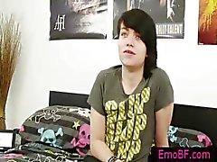 Heel schattig tiener homo emo part4