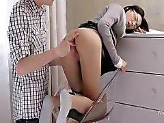 schattig wow secretaresse hard geneukt