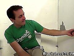 Whitey rides black dong