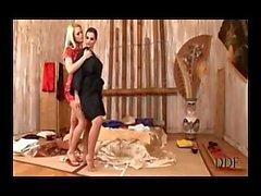 Eve Ангел и Вивьен заниматься сексом с Doubel Dong