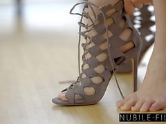 NubileFilms - Hot Fuck With Beautiful Blonde