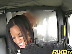 FakeTaxi - Black haired milf cheats on hubby