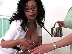 Mature british nurses fetish titfuck