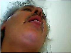 heiß turkish daddy Sperma vor der Cam
