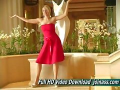 Actas de Vestidos Rojos a Alison Angel A sexy como una modelo