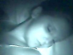 De dormir Chica Jizzed
