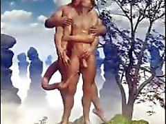 3D Army Boys and Fantasy Gays!
