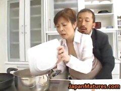 Hitomi di Kurosaki Mature Asian pollo part2