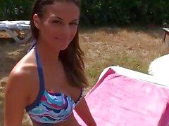 Hot Babe Black Angelika Romain Gets Her Tender Butt Fucked