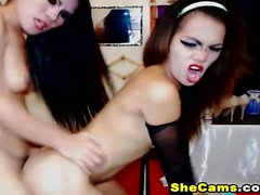 Hot Couple Shemale Loves To Fuck on Cam