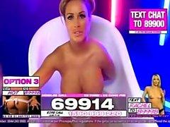 Gemma massey dans le bain 2