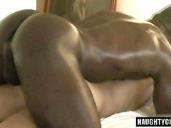 Huge dick gay anal sex with cumshot