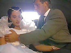 De bruid en papa