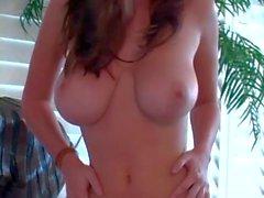 Naked buxom goddess Shay Laren poses for you