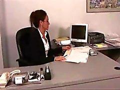 Mooie kantoor Lesbians