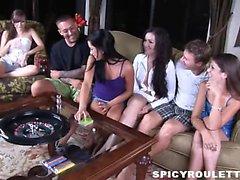 Yaban gençlere Tanner ile Alexis Capri cinsiyet maçı ile sikme oynamaya