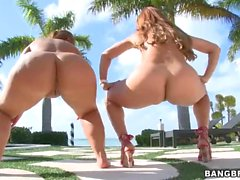 Two Big juicy asses of your viewing pleasure