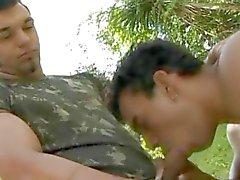 Militar Cojidas rolliza Gays al aire libre